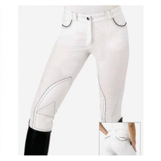 SARM HIPPIQUE REBECCA pantaloni equitazione donna monta inglese in cotone leggero