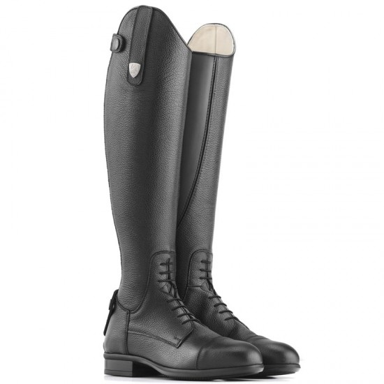 Stivali equitazione monta inglese Tattini modello Breton Close Contact,  con lacci anteriori